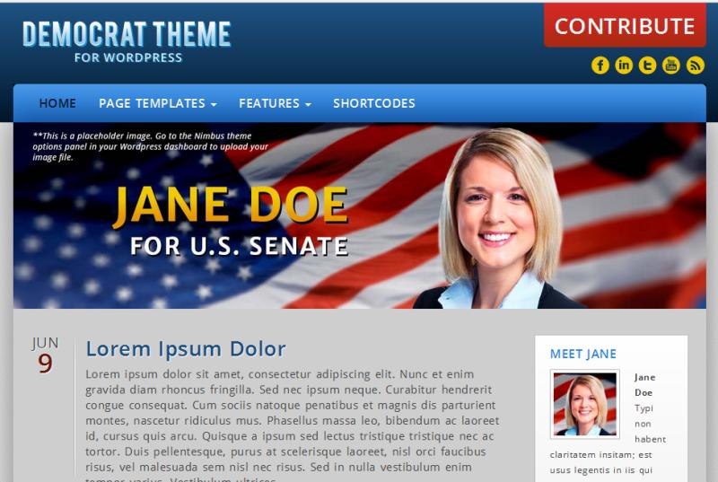 Democrat Theme