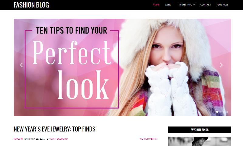 Fashion Style Wordpress Theme Style Wordpress Theme