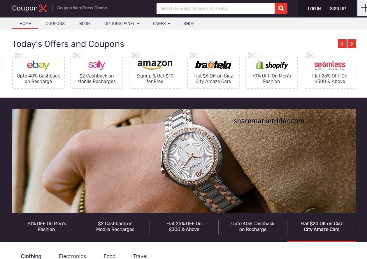 Photo of Coupon WordPress Theme