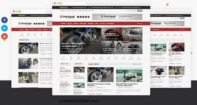Photo of Portland Magazine and Multi purpose WordPress Theme