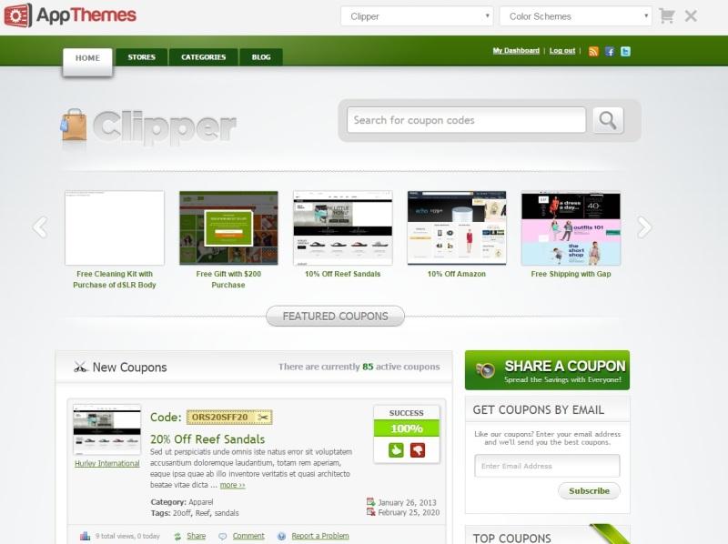 Photo of Clipper powerful eCommerce WordPress Theme